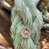 שרשרת חוט מטבע טיפאני חלול