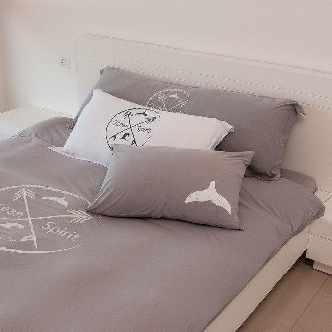 Extra Long Pillowcase - GREY-254