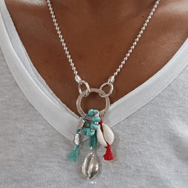 Ocean Sea Shell Necklace-0