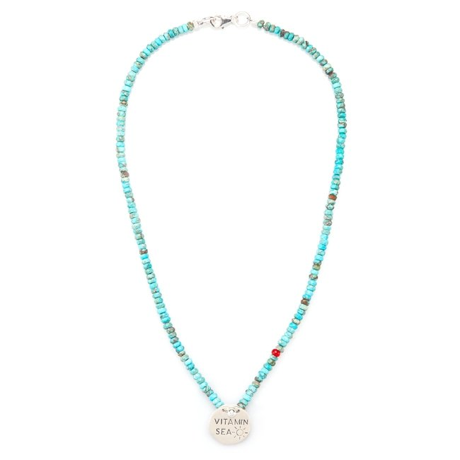 Vitamin Sea Turquoise Necklace-410