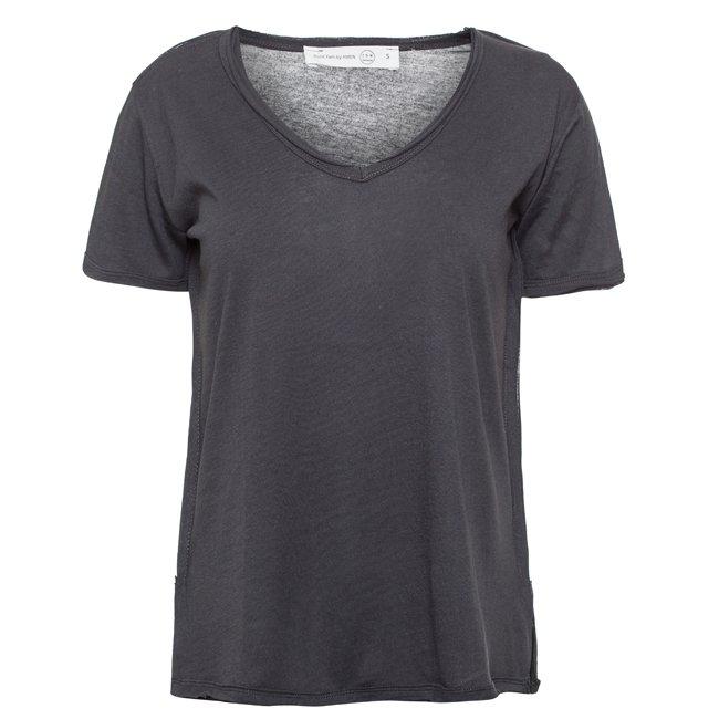 Basic Women T-Shirt - GREY-665
