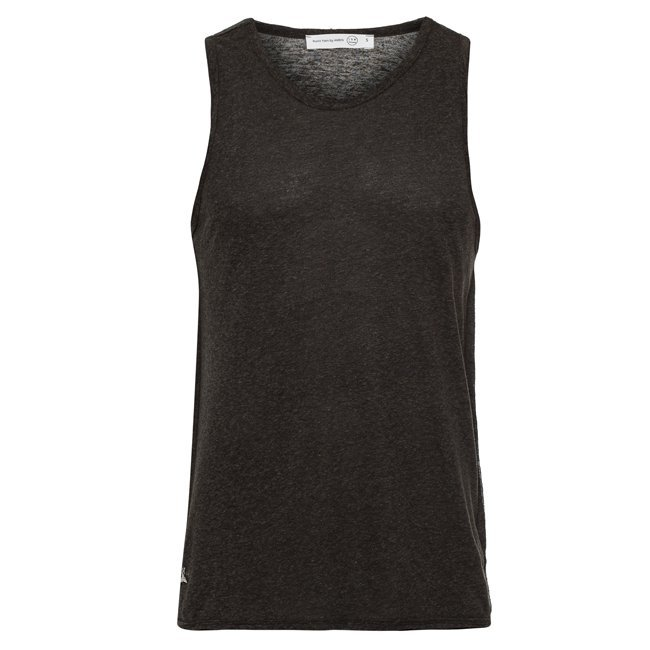 Whale Tail Men Sleeveless Top-934