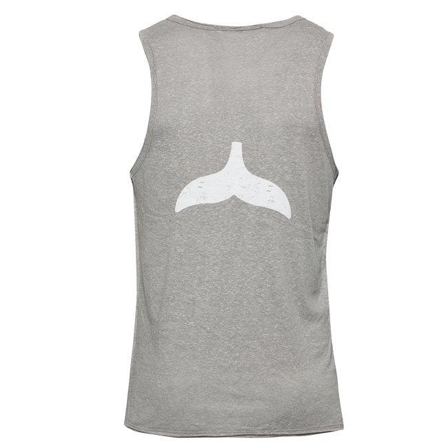 Whale Tail Men Sleeveless Top-0