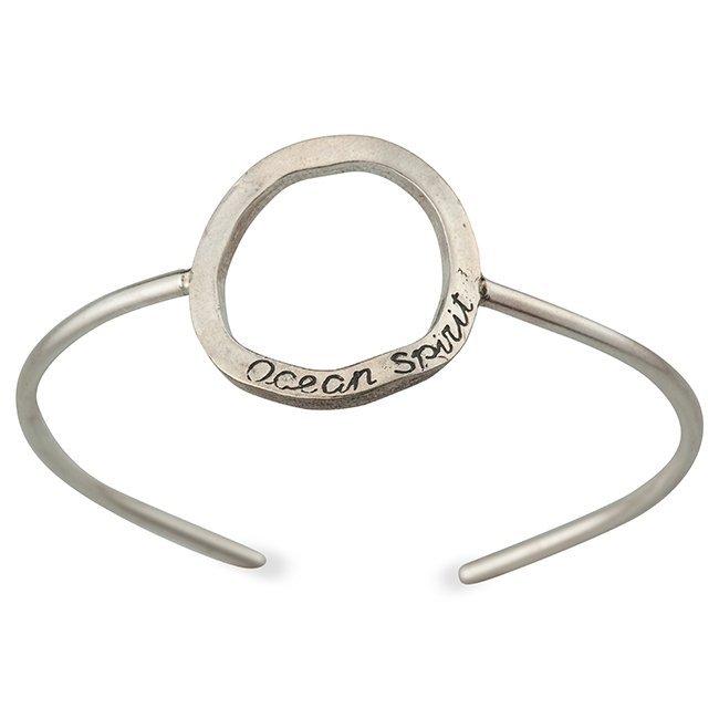 Ocean Circle Cuff Bracelet-0