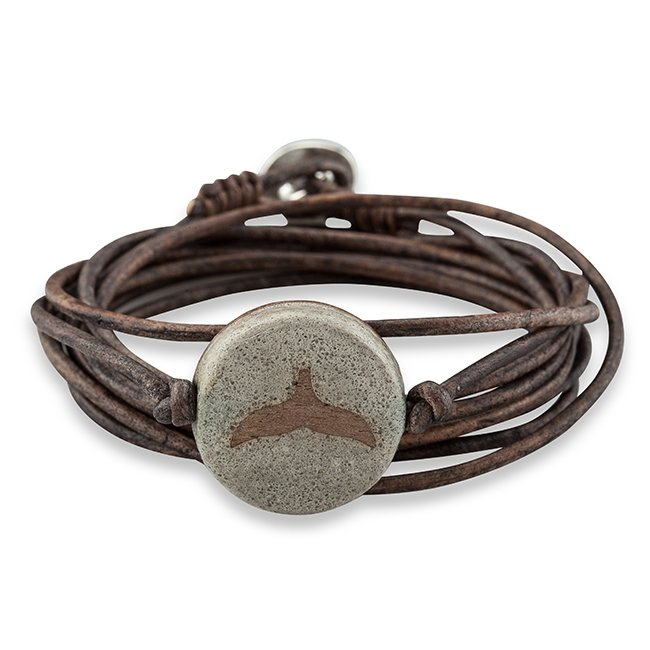 Concrete Leather Bracelet-0
