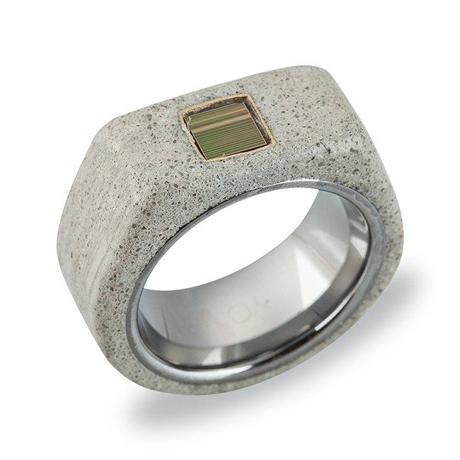 Nano Concrete Ring-0