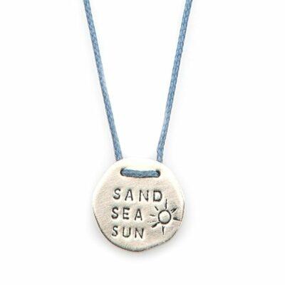 שרשרת חוט Sand~Sea~Sun-0