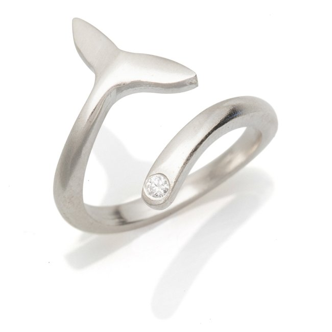Whale Tail Ring-1230