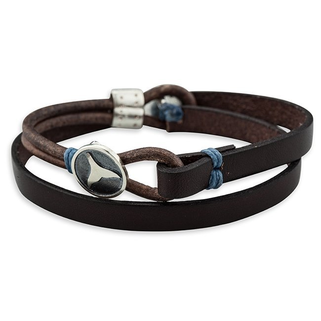 Reef Leather Bracelet-1205