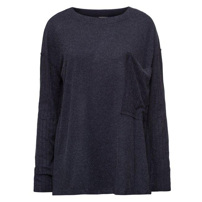 Oversized Pocket Sweater-1555
