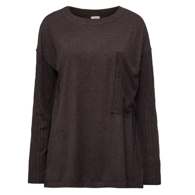 Oversized Pocket Sweater-1550