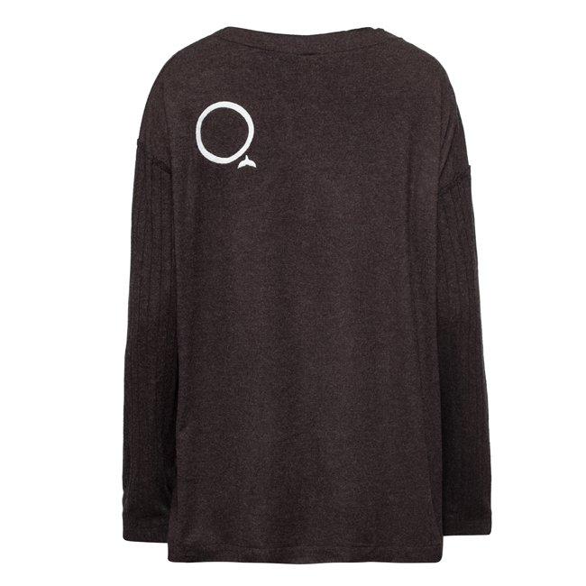 Oversized Pocket Sweater-1558