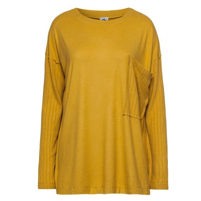 Oversized Pocket Sweater-1553
