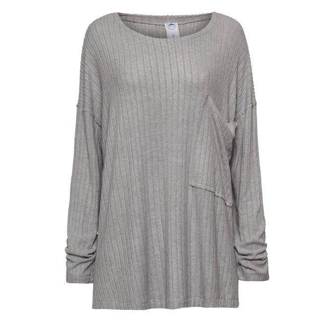 Oversized Pocket Sweater-1560