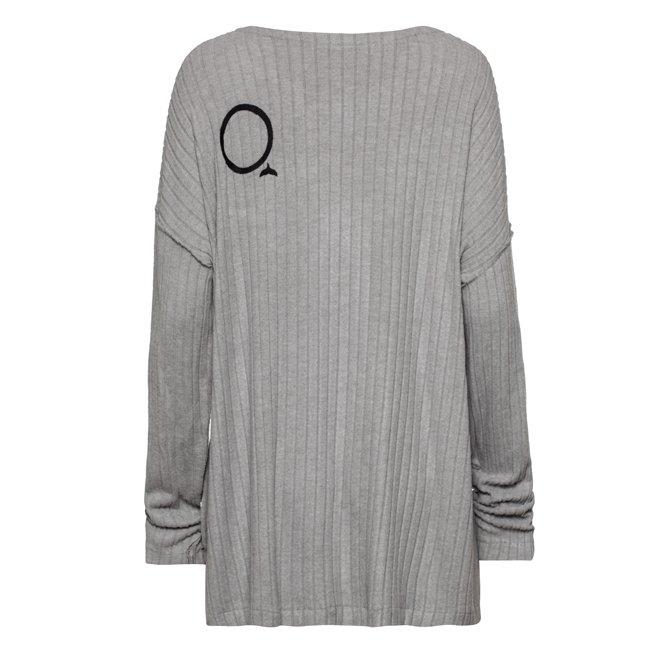 Oversized Pocket Sweater-1561