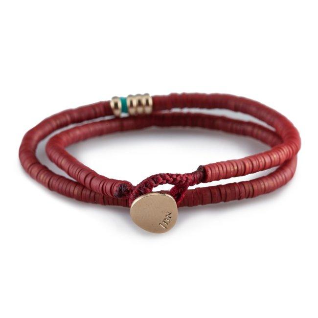 Disc Beads Bracelet-1955