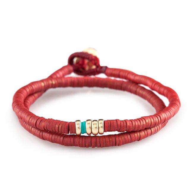 Disc Beads Bracelet-1957