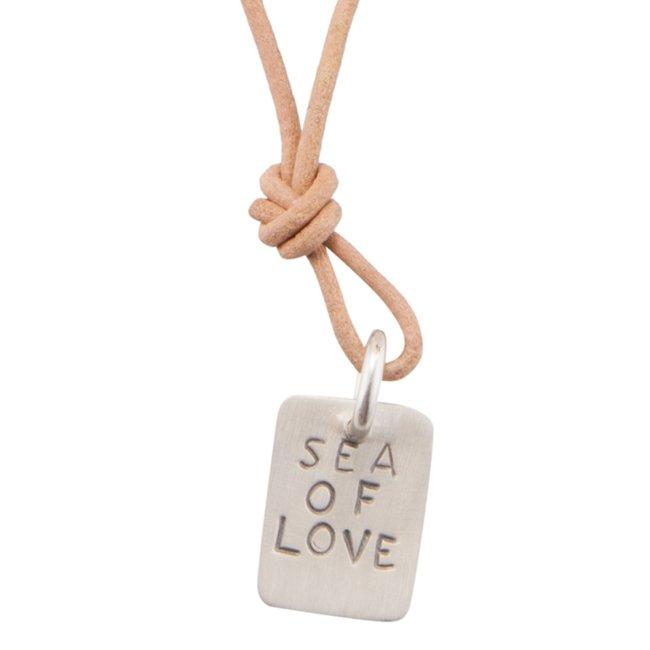 שרשרת עור Sea Of Love-0