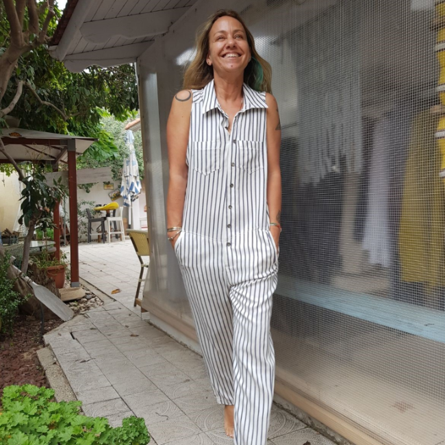 Spring Stripes Jumpsuit-0