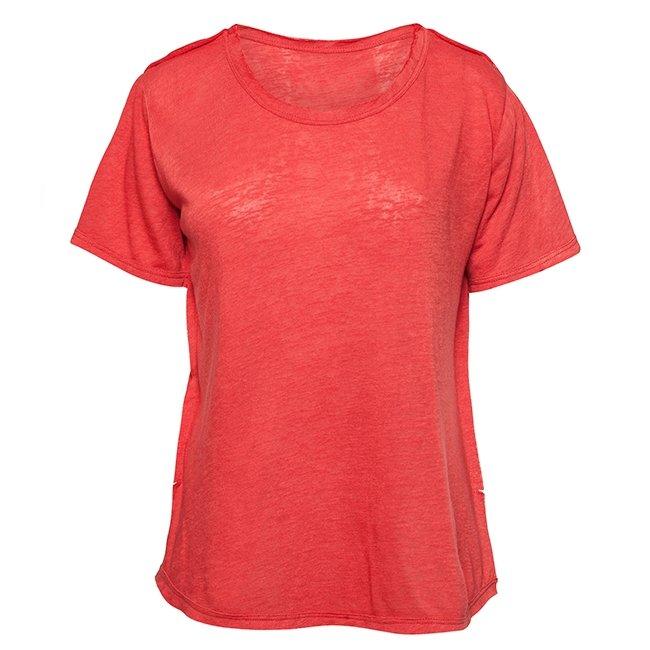 Women Stripes Whale Tail T-shirt-2455