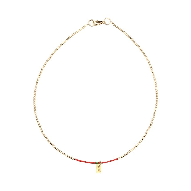 Venus Sunset Beads Necklace-2406
