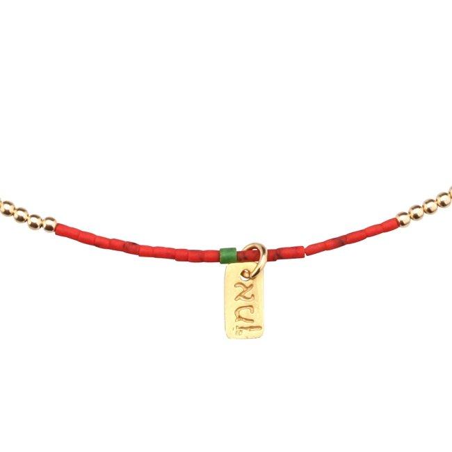 Venus Sunset Beads Necklace-0
