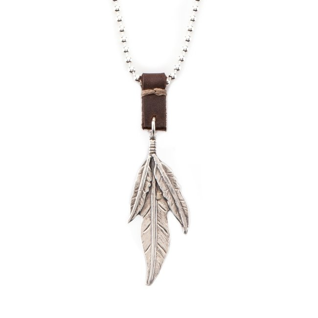 Feathers Necklace-0