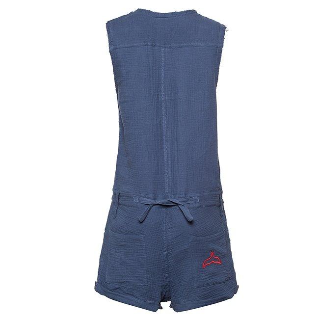 Muslin Short Jumpsuit-3014
