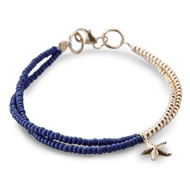 Venus Golden Blue Bracelet-0