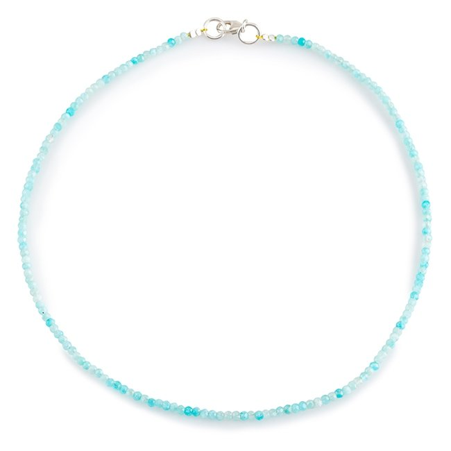 Turquoise Gems Necklace-2747