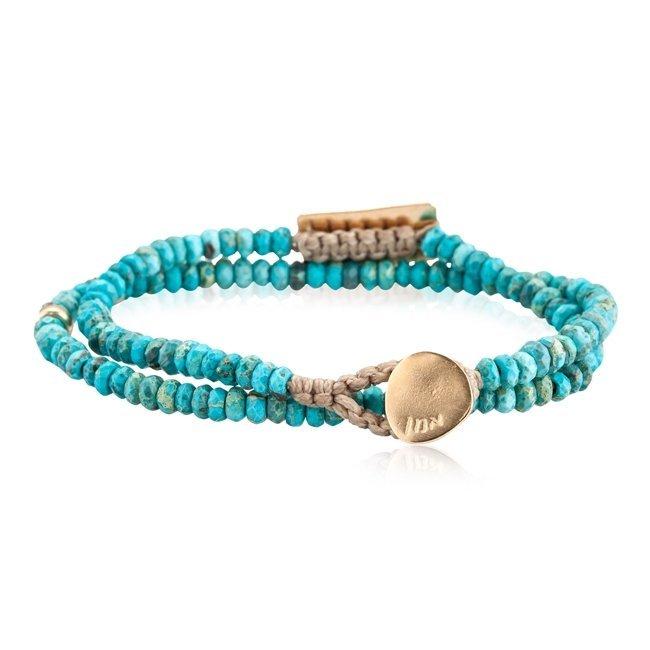Personalized Turquoise Bracelet-3112