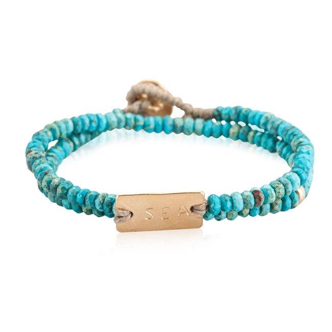 Personalized Turquoise Bracelet-0