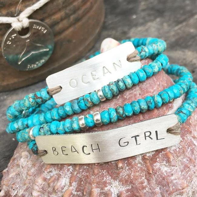 Personalized Turquoise Bracelet-3113
