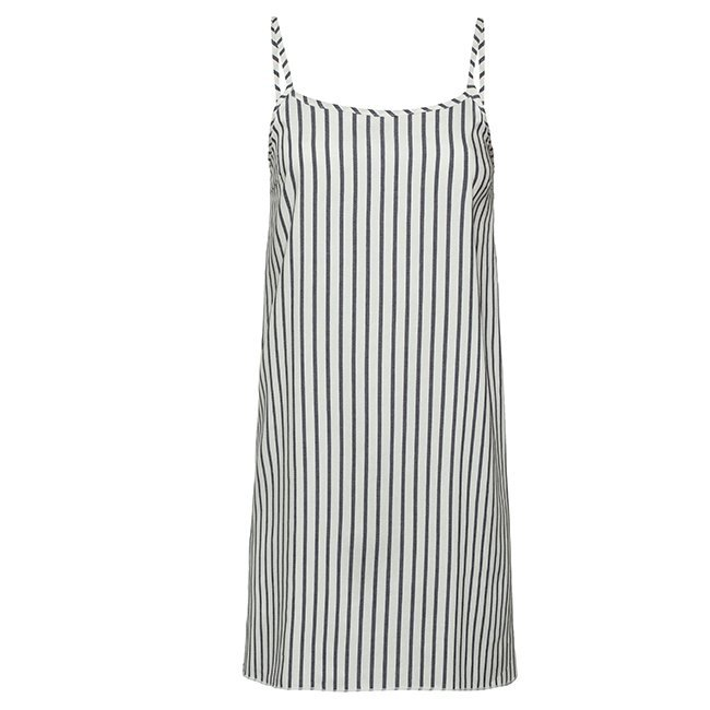 Short Stripes Dress-0