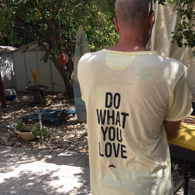 Do What You Love Men Shirt-3334