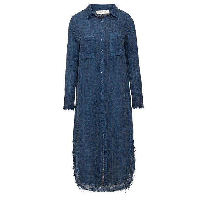 Muslin Button-Down Dress-3864