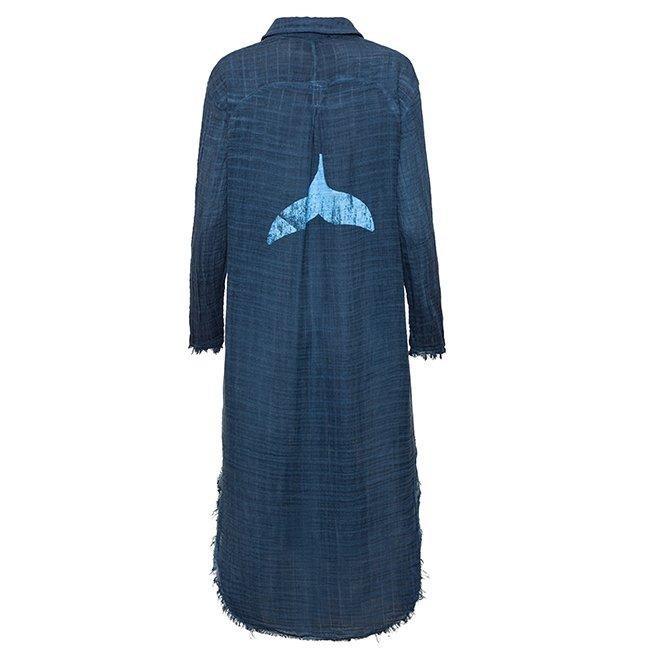Muslin Button-Down Dress-3863