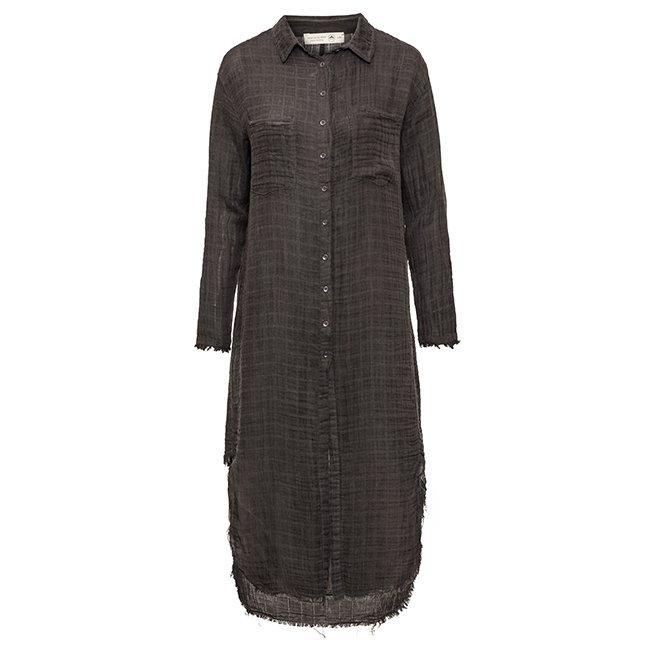 Muslin Button-Down Dress-3867