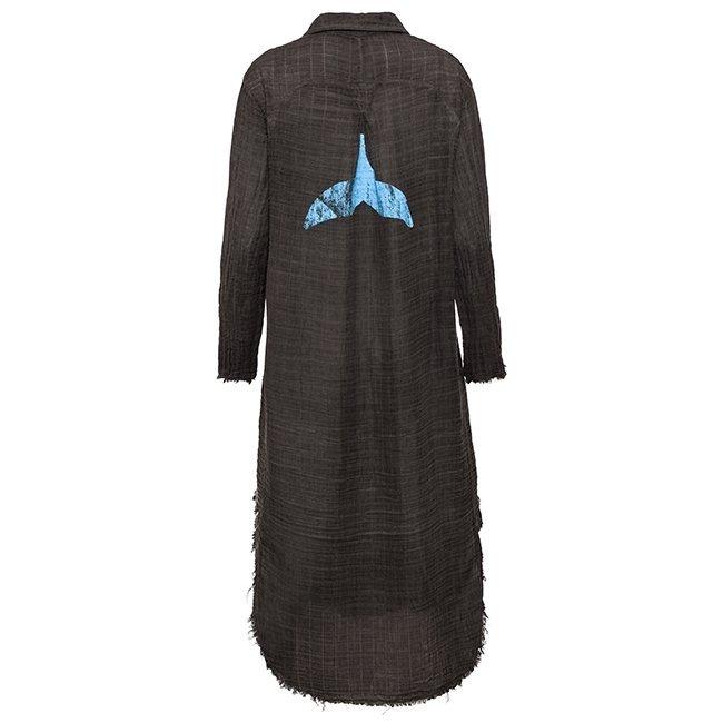 Muslin Button-Down Dress-3865