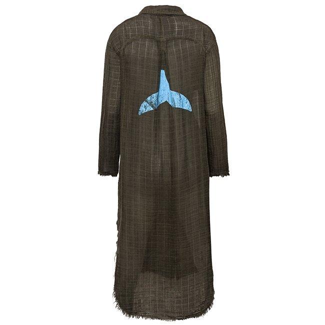 Muslin Button-Down Dress-0