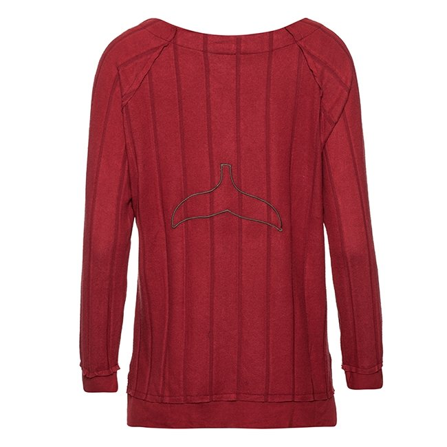 Women Whale Tail Sweater-3944