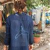 Women's Muslin Button-Down Shirt-3852