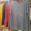 Men Whale Tail Sweater-3907