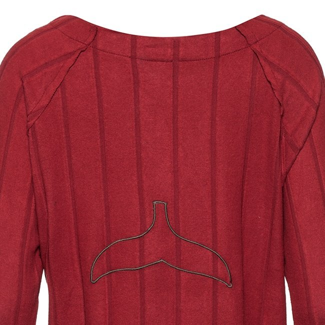 Women Whale Tail Sweater-3966