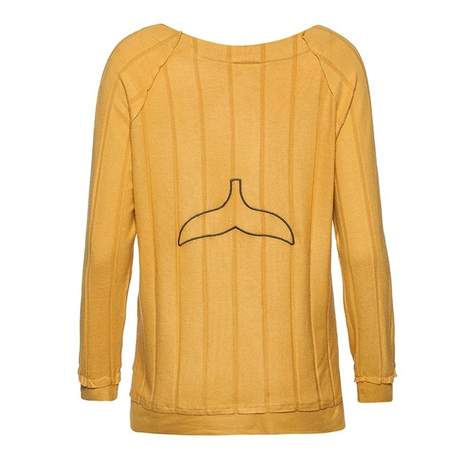 Women Whale Tail Sweater-3958