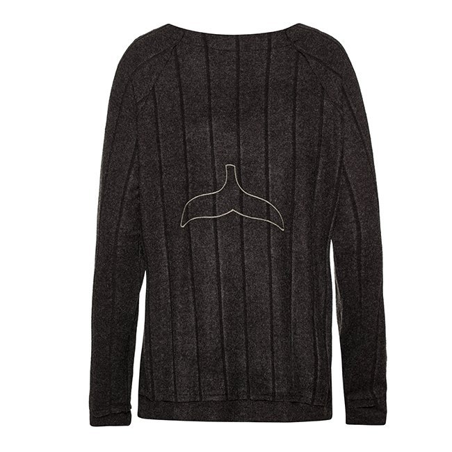 Women Whale Tail Sweater-3959