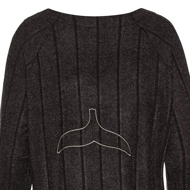 Women Whale Tail Sweater-3980