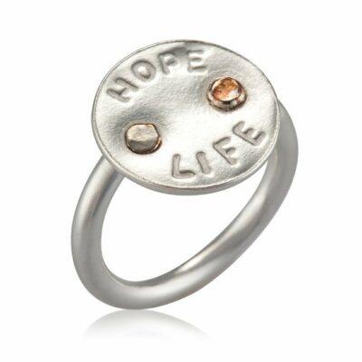 טבעת Hope ~ Life-0