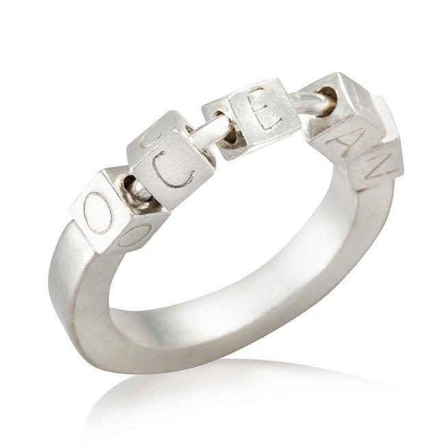טבעת Ocean בהתאמה אישית-0
