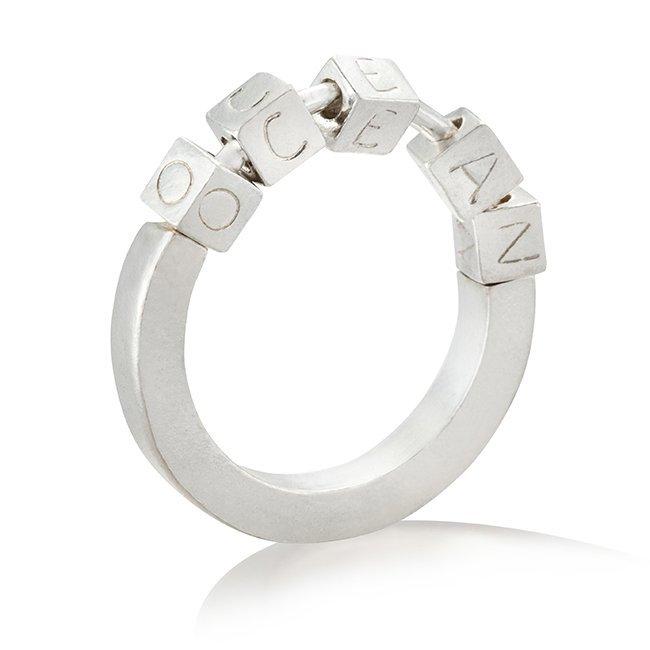 טבעת Ocean בהתאמה אישית-4118
